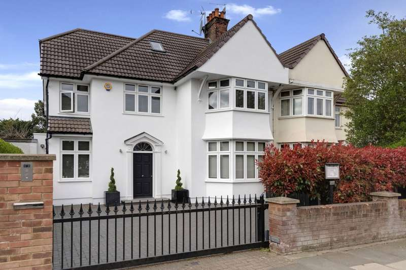 5 Bedrooms Semi Detached House for sale in Farm Avenue, The Hocrofts, London, NW2