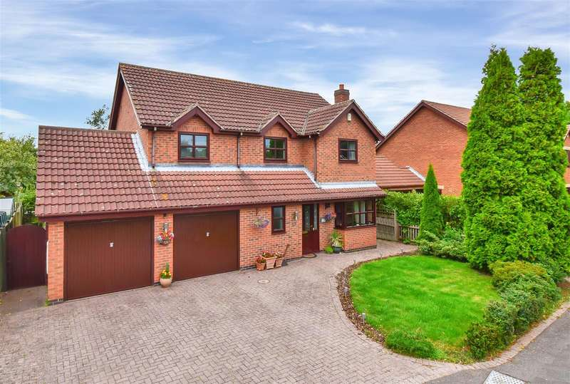 4 Bedrooms Detached House for sale in Forrester Close, Coleorton, LE67 8GL