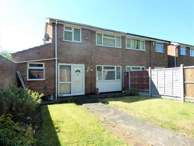 3 Bedrooms Semi Detached House for sale in Dunsville Walk, Rushey Mead, Leicester