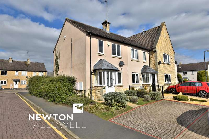 2 Bedrooms End Of Terrace House for sale in Mallard Court, Stamford