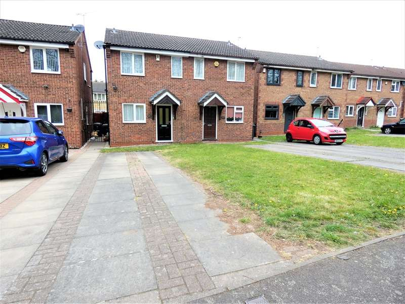2 Bedrooms Semi Detached House for sale in Martin Street, Belgrave, Leicester