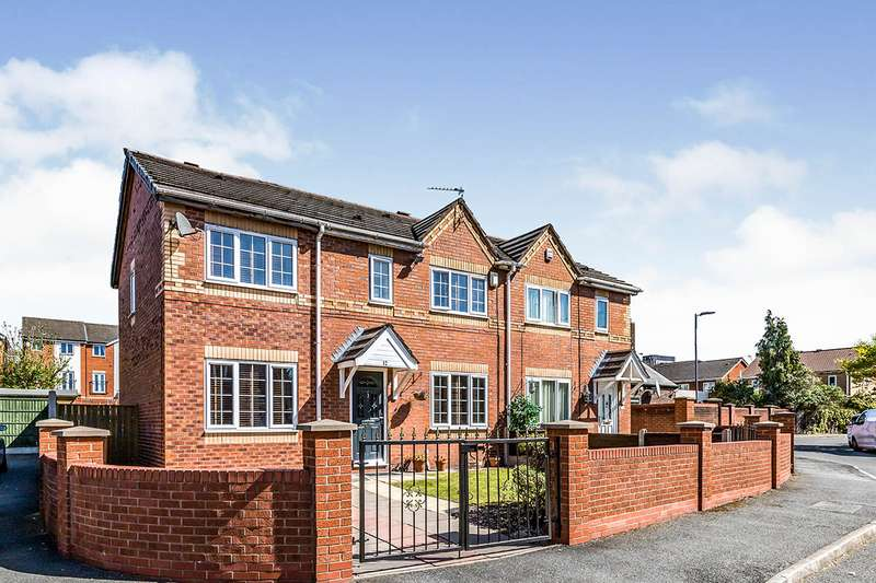 4 Bedrooms Semi Detached House for sale in Whimberry Close, Salford, M5