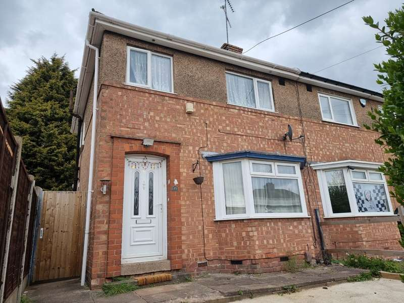 3 Bedrooms Semi Detached House for sale in Astill Drive, Leicester, LE4