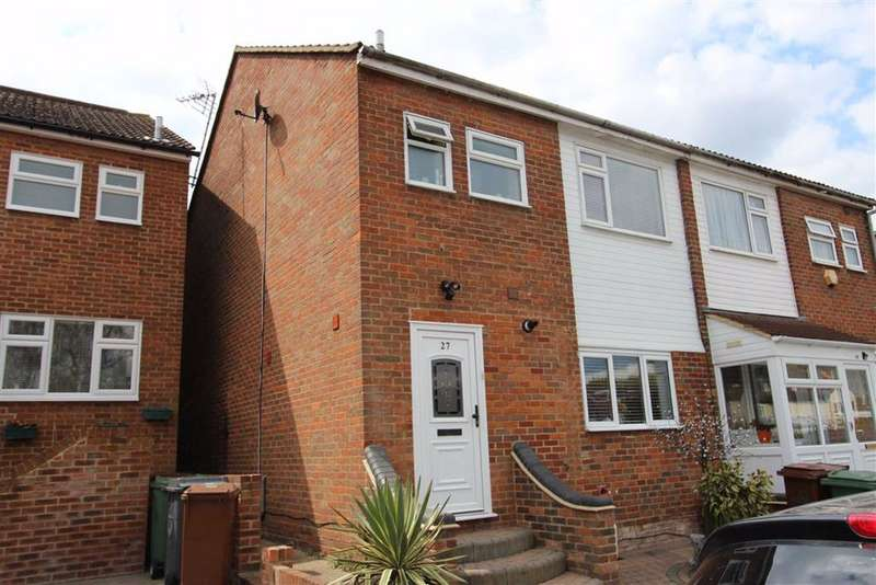 3 Bedrooms Semi Detached House for sale in Arabia Close, North Chingford, London