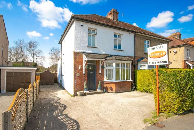 3 Bedrooms Semi Detached House for sale in Upshire Road, Waltham Abbey