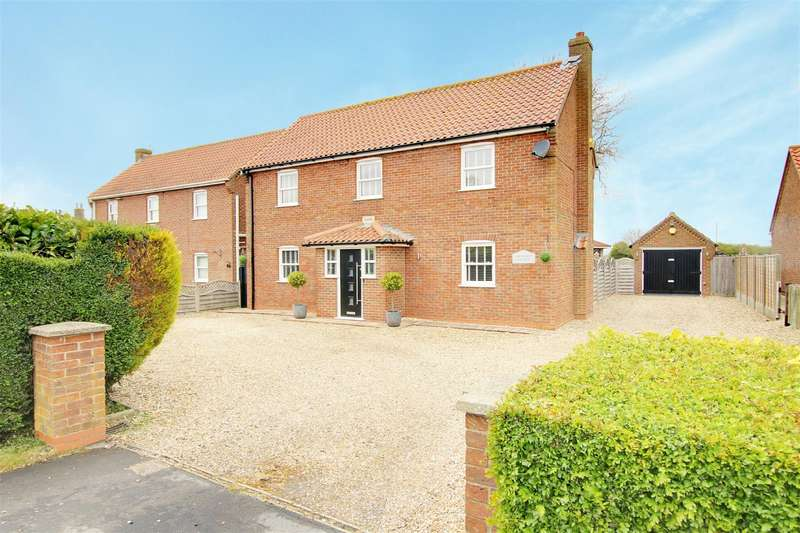 3 Bedrooms Detached House for sale in Main Road, Maltby Le Marsh, Alford