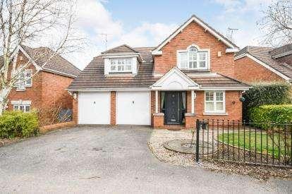4 Bedrooms Detached House for sale in Larch Close, Underwood, Nottingham, Nottinghamshire