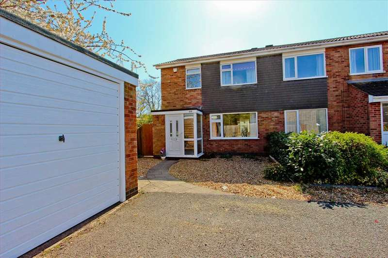 3 Bedrooms Semi Detached House for sale in Falcon Road, Anstey