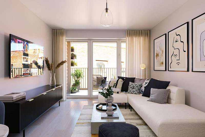 1 Bedroom Flat for sale in Vargas Apartments, Western Circus, Acton, Western Avenue, Acton, LONDON, W3 7XX