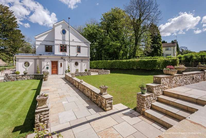 4 Bedrooms Detached House for sale in Dyffryn, Vale of Glamorgan, CF5 6SU