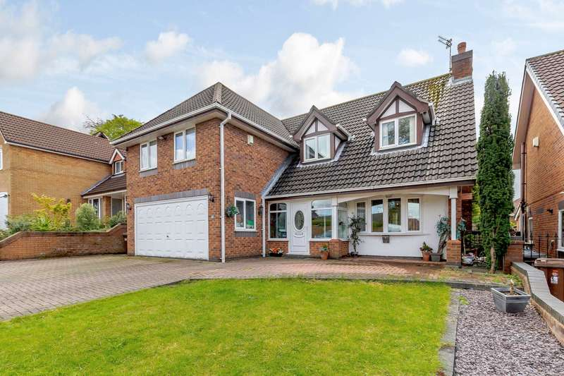 5 Bedrooms Detached House for sale in Smallshaw Close, Ashton-in-Makerfield, Wigan, WN4
