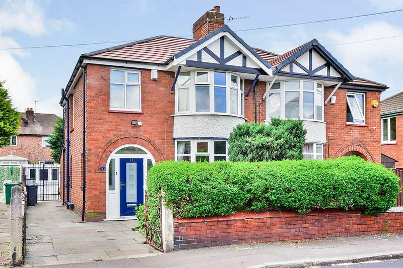 3 Bedrooms Semi Detached House for sale in St. Hildas Road, Northenden, Manchester, Greater Manchester, M22