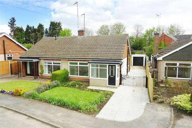 3 Bedrooms Semi Detached Bungalow for sale in Rectory Lane, Market Harborough, Leicestershire