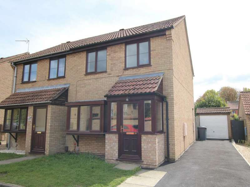 3 Bedrooms Semi Detached House for sale in Blacks Close, Waddington, Lincoln