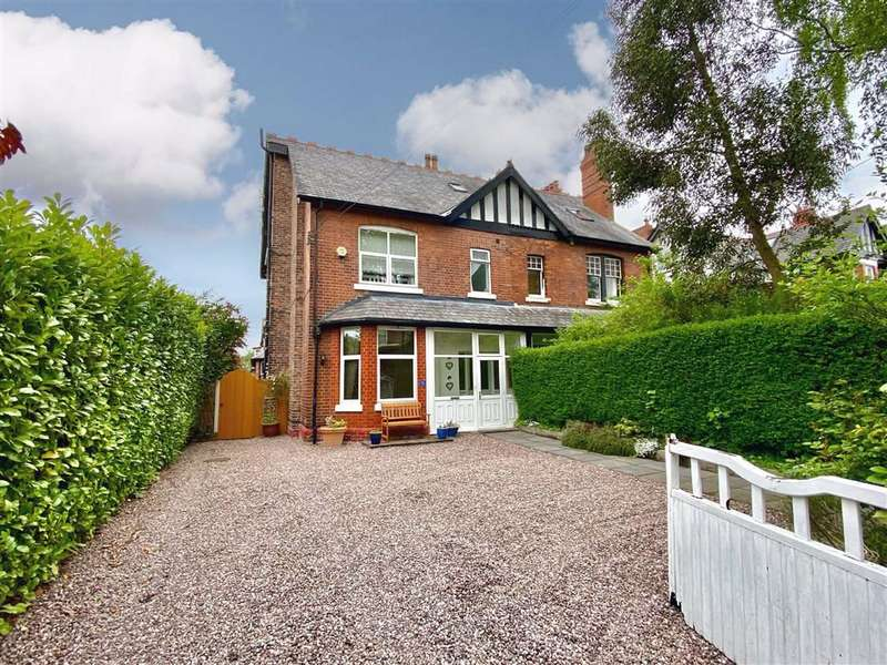 5 Bedrooms Semi Detached House for sale in Priory Road, Sale
