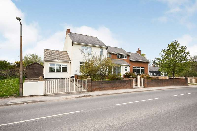 Detached House for sale in Kirkby Lane, Pinxton, Nottingham, Derbyshire, NG16