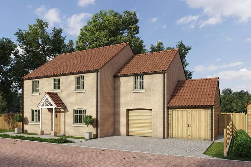 5 Bedrooms Detached House for sale in Rectory Lea, Fillingham, Gainsborough