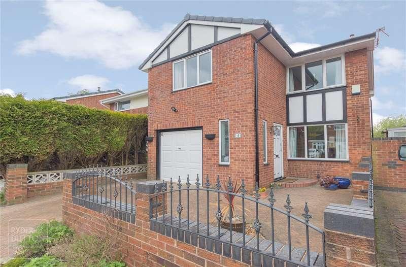 4 Bedrooms Detached House for sale in Lymington Close, Alkrington, Middleton, Manchester, M24
