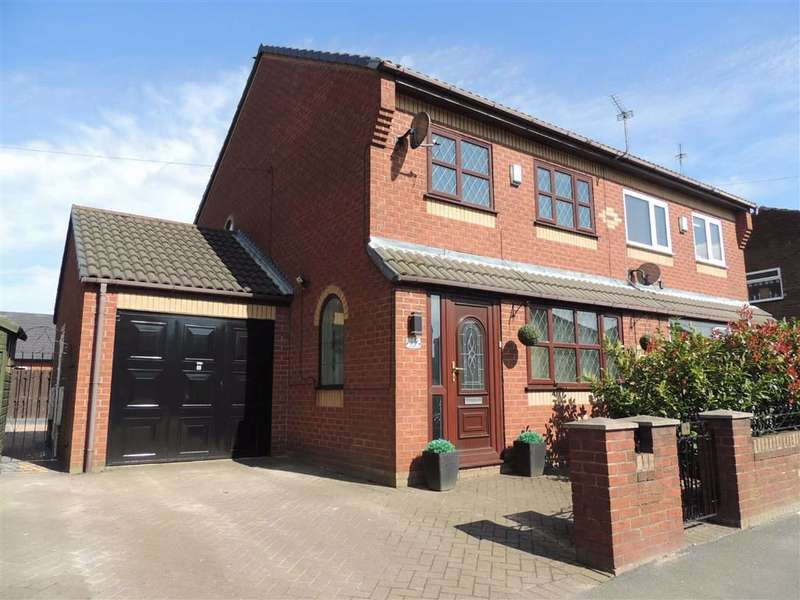 3 Bedrooms Semi Detached House for sale in Two Trees Lane, Denton, Manchester