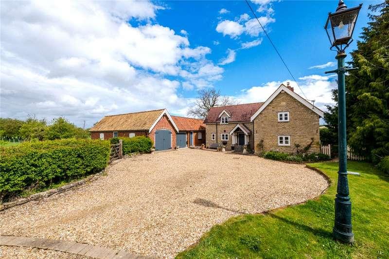 3 Bedrooms Detached House for sale in Riverside Cottage, Main St, Edenham, PE10