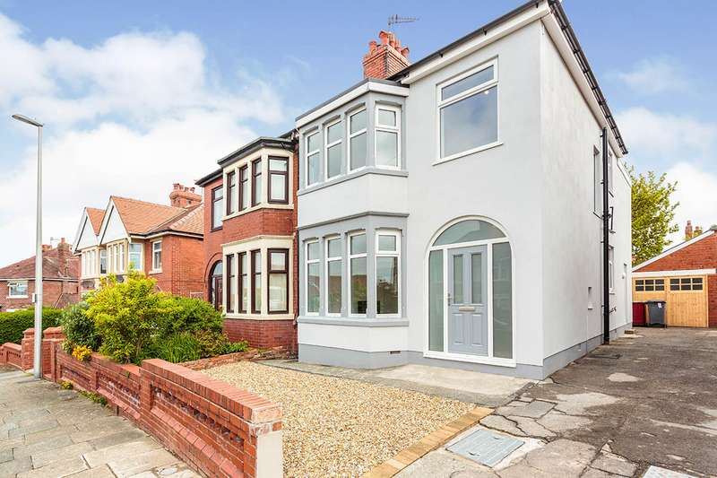 4 Bedrooms Semi Detached House for sale in Crestway, Blackpool, Lancashire, FY3