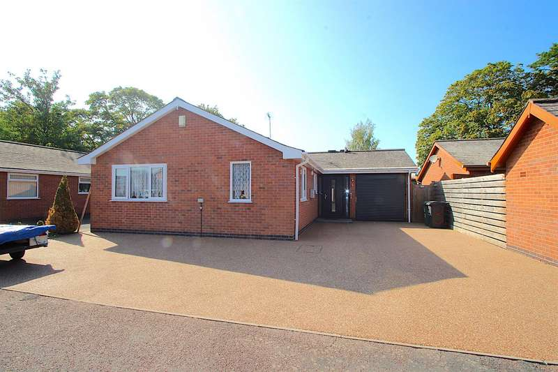 2 Bedrooms Detached Bungalow for sale in Frederick Close, Queniborough