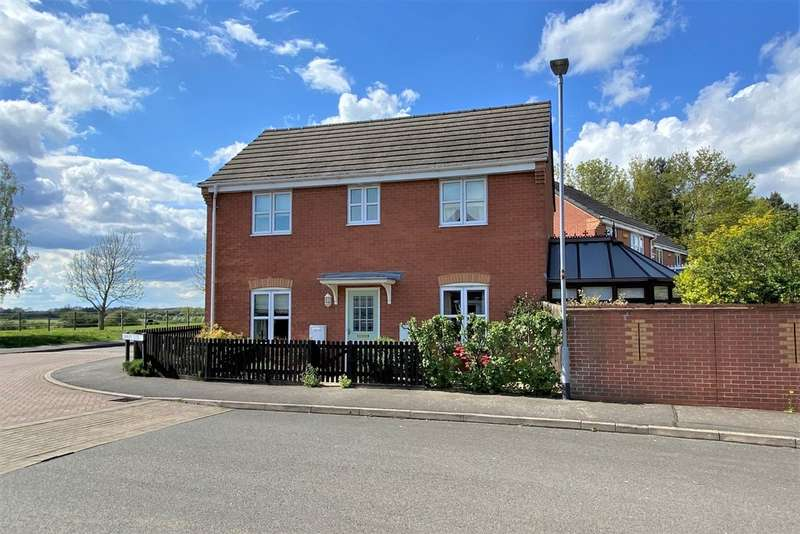 3 Bedrooms Detached House for sale in Cavalry Close, Melton Mowbray
