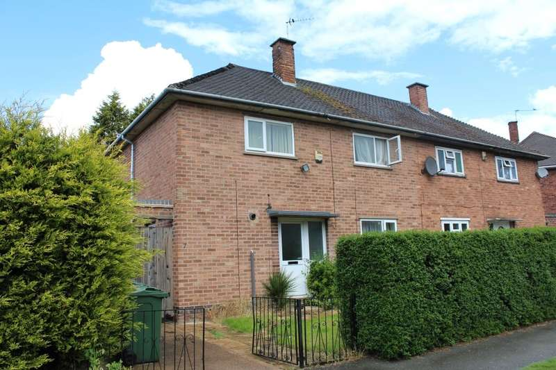 3 Bedrooms Semi Detached House for sale in Sharpley Road, Loughborough, LE11
