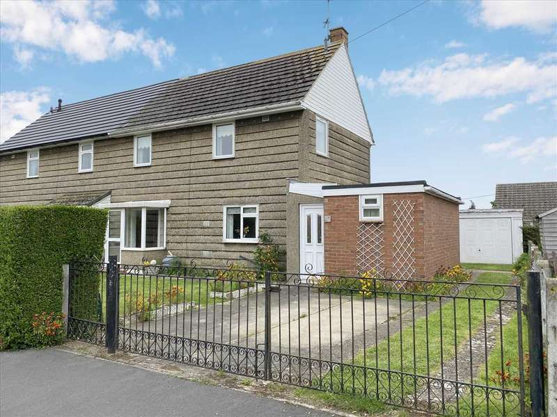 3 Bedrooms Semi Detached House for sale in Arnhem Avenue, Ruskington