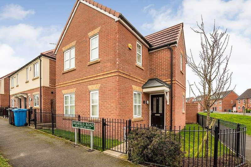 3 Bedrooms Detached House for rent in Highfield Road, Liverpool, Merseyside, L36