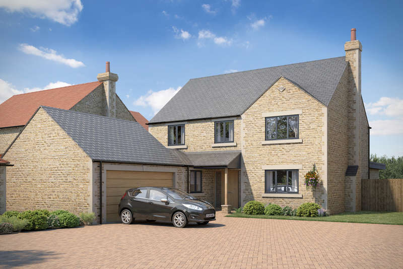 5 Bedrooms Detached House for sale in Holywell Road, Castle Bytham