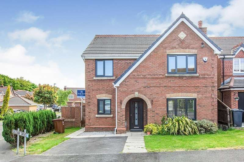 4 Bedrooms Detached House for sale in Galloway Drive, Upholland, Skelmersdale, Lancashire, WN8