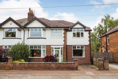 4 Bedrooms Semi Detached House for sale in Mona Road, West Brigford, Nottingham, Nottinghamshire