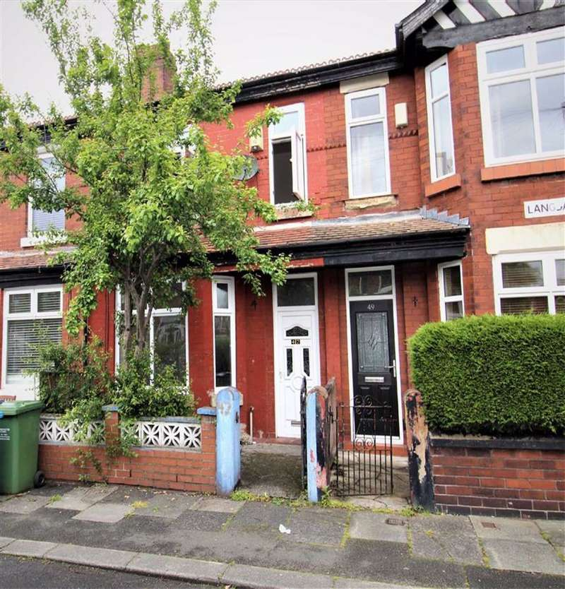 3 Bedrooms Terraced House for sale in Langdale Avenue, Levenshulme, Manchester