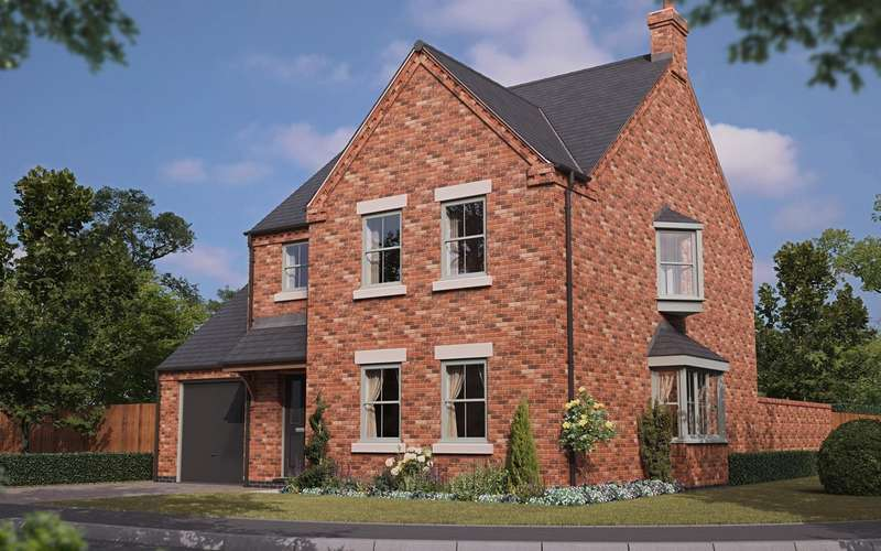 3 Bedrooms Detached House for sale in Dunston Road, Metheringham, Lincoln
