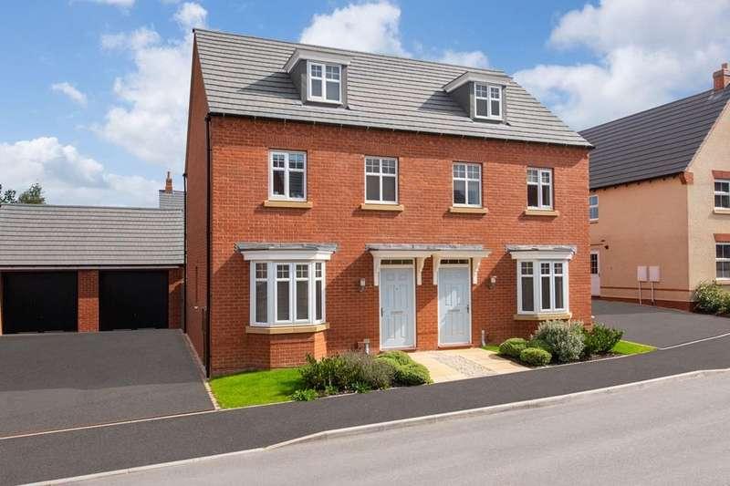 3 Bedrooms House for sale in Kennett, David Wilson Homes at Kibworth, Fleckney Road, Kibworth, LEICESTER, LE8 0HG