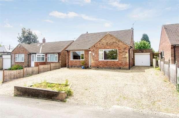 2 Bedrooms Detached Bungalow for sale in Horseshoe Lane, Great Bowden, Market Harborough