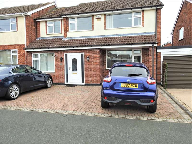 4 Bedrooms House for sale in Braunton Close, Hucknall