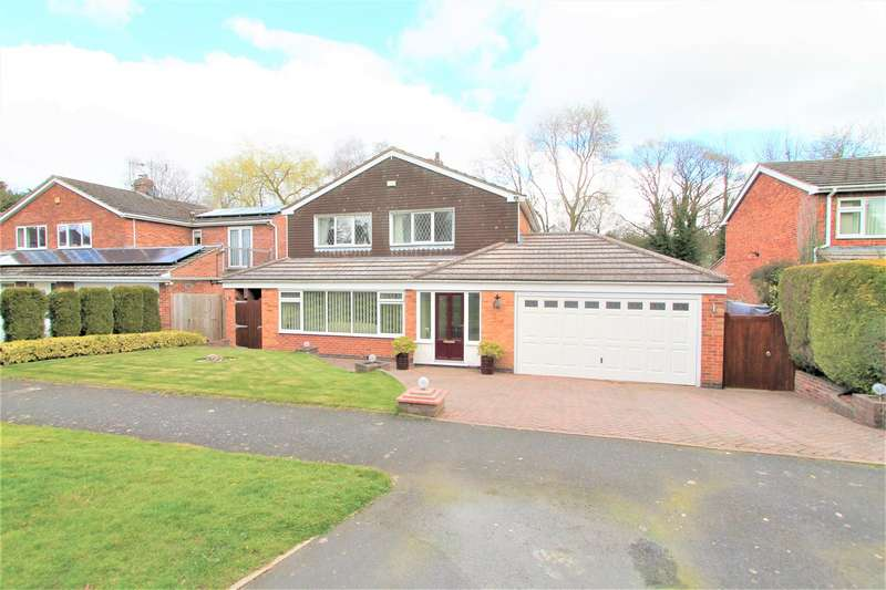4 Bedrooms Detached House for sale in Hollies Way, Thurnby, Leicester LE7