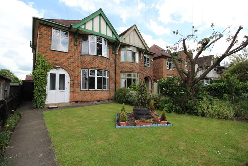 3 Bedrooms Semi Detached House for sale in Leicester Road, Loughborough