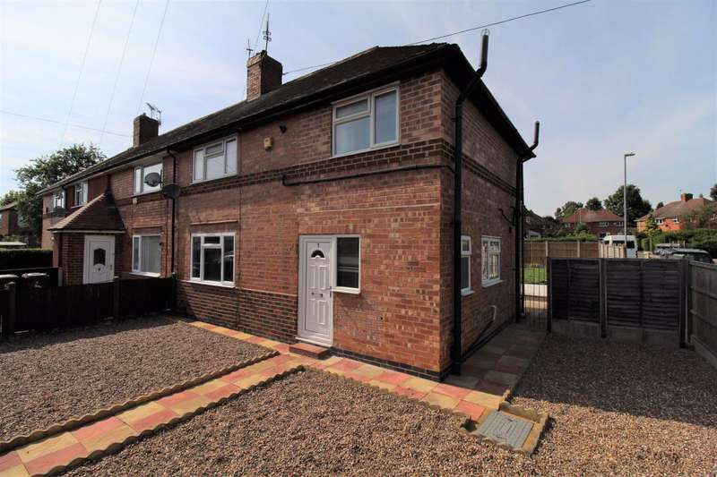 3 Bedrooms Semi Detached House for rent in Burrows Avenue, Beeston, Nottingham, NG9 2QW