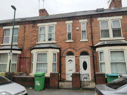 4 Bedrooms Terraced House for sale in Grove Road, Nottingham, Nottinghamshire