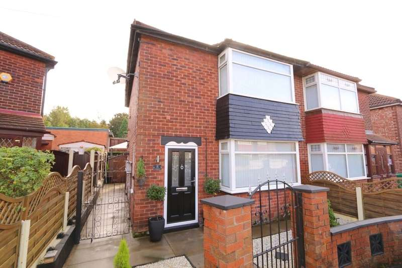 2 Bedrooms Semi Detached House for sale in Audrey Avenue, Manchester, M18