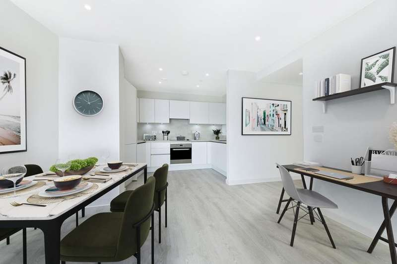 3 Bedrooms Flat for sale in Barnum Apartments, Western Circus, Acton, Western Avenue, Acton, LONDON, W3 7XX