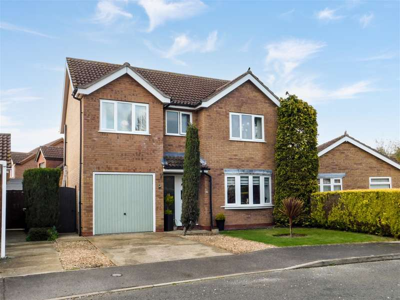 3 Bedrooms Detached House for sale in Hastings Drive, Wainfleet, Skegness, PE24 4PX