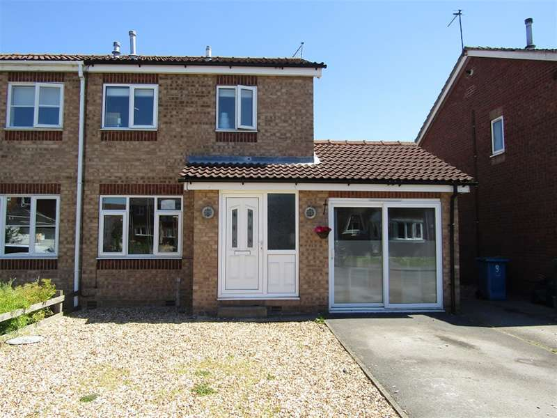 3 Bedrooms Semi Detached House for sale in Laurel Close , Gainsborough, DN21 1FE