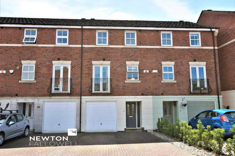 4 Bedrooms Town House for sale in Christ Church Close, Stamford