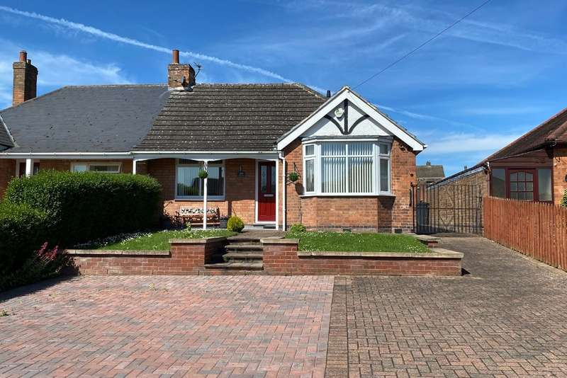 2 Bedrooms Semi Detached Bungalow for sale in Scalford Road, Melton Mowbray