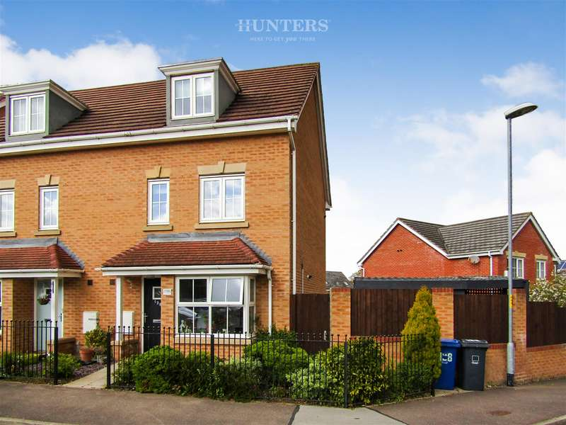 4 Bedrooms Semi Detached House for sale in Sunningdale Way, Gainsborough, DN21 1JE