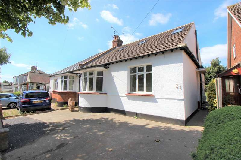 4 Bedrooms Semi Detached Bungalow for sale in Olivia Drive, Leigh-on-Sea, Essex, SS9
